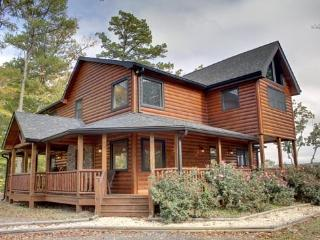 LONESOME DOVE-3BR/3BA-WESTERN THEMED CABIN, MOUNTAIN VIEW, GAS GRILL, WIFI, PAVED ROADS, POOL TABLE, WET BAR, FLAT SCREEN TV`S, GAS & WOOD BURNING FIREPLACES! STARTING AT $200 A NIGHT!, Blue Ridge