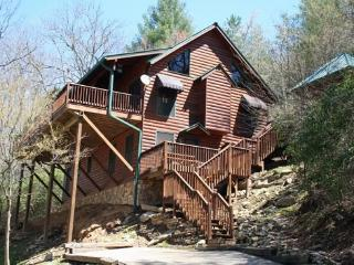 TOCCOA FISH TALES- 3BR/2BA CABIN ON THE TOCCOA RIVER TAILWATERS, WALKING DISTANCE TO TOCCOA RIVER RESORT,HOT TUB, FOOSBALL, GRILL, WIFI, JETTED TUB, NOT TO MENTION EXCELLENT FISHING! ONLY $200/NIGHT!, Blue Ridge