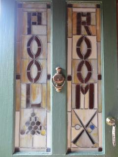 front door of the Carriage house