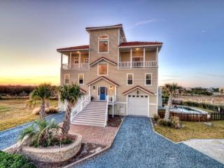 Bay Court 105 Oceanview! | Save in May | 2 Pools (one on roof), Hot tub, Elevator, Linens, Internet, Game Equipment, Pet and Wedding Friendly, Fireplace, Jacuzzi, Boat Launch, North Topsail Beach