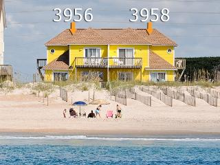 Island Drive 3956 Oceanfront! | Internet, Pet Friendly, North Topsail Beach