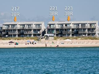Shipwatch II 223 Oceanfront! | Community Pool, Internet, North Topsail Beach