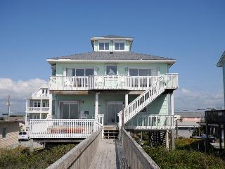 N. Shore Dr. 328 Oceanfront! | Hot Tub, Internet, Jacuzzi Tub, Fireplace, Surf City