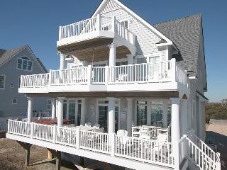Island Drive 4266 Oceanfront! |  Internet, Community Pool, Hot Tub, Elevator, Game Equipment Discounts Available- See Description!!, North Topsail Beach