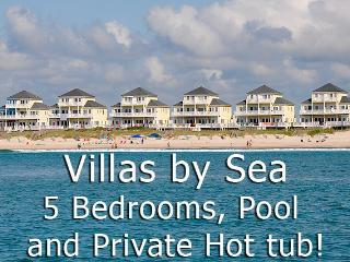 Villas Drive 814 Oceanfront! | Community Pool, Hot Tub, Elevator, Jacuzzi, Internet, North Topsail Beach
