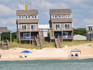 S. Shore Drive 1814B Oceanfront! | Fireplace, Internet, Surf City