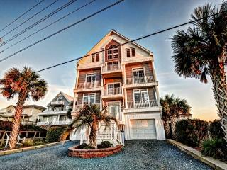 Island Drive 3568 Oceanfront! | Private Heated Pool, Hot Tub, Elevator, Jacuzzi, Internet, Fireplace, Game Equipment, North Topsail Beach