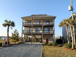 Island Drive 3759 Oceanview! | Fireplace, North Topsail Beach