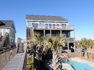 Island Drive 3892 Oceanfront! | Private Heated Pool, Hot Tub, Jacuzzi, Internet, North Topsail Beach