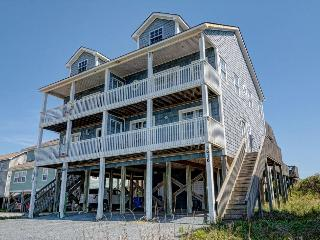 Island Drive 3936 Oceanfront! | Internet, Pet Friendly, North Topsail Beach