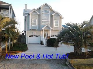Island Drive 4386 Oceanfront-B Lot! | Jacuzzi, Fireplace, Internet Discounts Available- See Description!!, North Topsail Beach