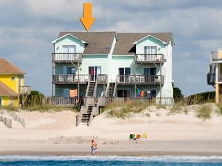 Island Drive 3960 Oceanfront! | Internet, Jacuzzi, Fireplace, North Topsail Beach