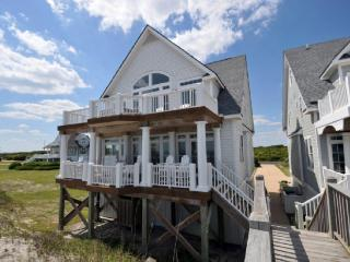 Island Drive 4246 Oceanfront! | Internet, Community Pool, Hot tub, Jacuzzi, Fireplace, North Topsail Beach