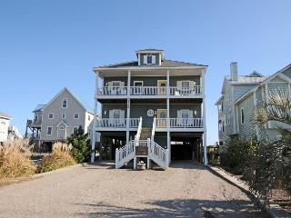 Island Drive 4388 Oceanfront-B Lot! | Hot Tub, Elevator, Jacuzzi, Internet, Fireplace, North Topsail Beach