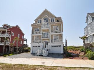 New River Inlet Rd 436 Oceanfront! | Hot Tub, Elevator, Jacuzzi, Fireplace