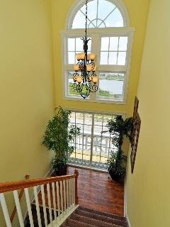 Foyer and View of Intracoastal Waterway