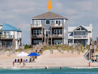 Island Drive 4384 Oceanfront! | Hot Tub, Jacuzzi, Elevator, Internet Discounts Available- See Description!!, North Topsail Beach