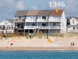 New River Inlet Rd 1346 Oceanfront! | Internet, Jacuzzi, North Topsail Beach