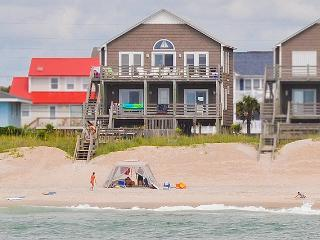 S. Shore Drive 1604 Oceanfront! | Fireplace, Internet, Surf City