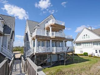 Island Drive 4298 Oceanfront! | Internet, Community Pool, Hot Tub, Elevator, Jacuzzi, Fireplace, North Topsail Beach