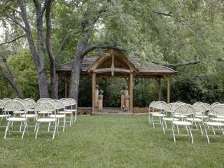 Cherry Log Pavilion-Events Venue-CALL OFFICE FOR PRICING AND BOOKING-Now Available for Weddings and Reunions-Banquet Room with Fireplace-Full Kitchen-Men and Women`s Restroom`s-Creek, Blue Ridge