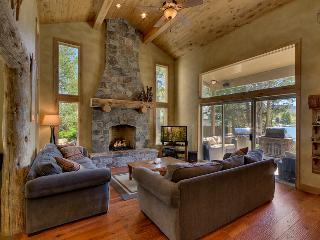 Enjoy the view and the gas fireplace from the spacious great room.