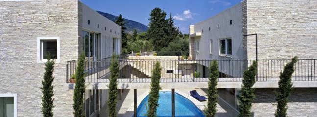Luxury villa with pool for rent, in Bol, Brac island