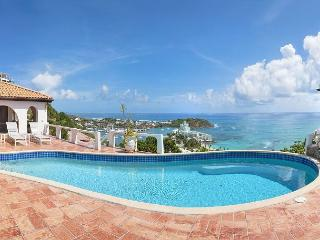 The Arches - Lovely villa on the Oyster Pond hillside with fantastic views!, St-Martin/St Maarten