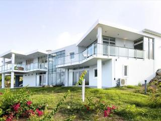Brand new villa 'La Mirella' is an island estate in Oyster Pond, St. Maarten