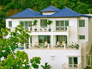 Twin Palms is a new luxury villa in the gated community of Dawn Beach Estate., St. Maarten-St. Martin
