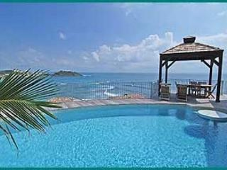 Valhalla boasts one of the most expansive ocean views on the island., St. Maarten-St. Martin