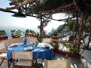 Torre A Mare - nice sea view from the garden, Praiano