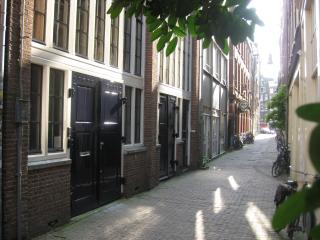 The Metropolitan private apartment with garden, Amsterdã