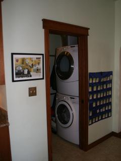 Washer and Dryer off Kitchen