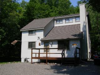 Paw Prints in the Poconos Booking for Summer A/C, WiFi, Sleeps 8 Specials Below
