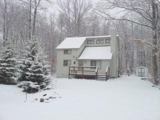 Paw Prints in the Poconos Booking for Summer A/C, WiFi, Sleeps 8, Pocono Lake