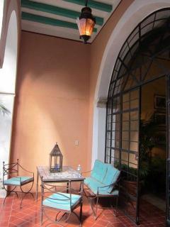Portico Dining Area