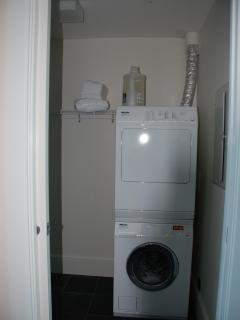 Ensuite Miele washer & dryer