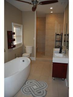 Master/King Bathroom Huge Walk-in Shower