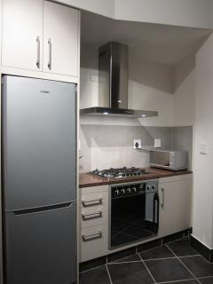 Sleek and modern with appliances that appeal to the eye and deliver a relaxed holiday