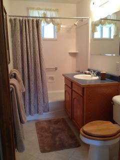 In-law suite - full bathroom