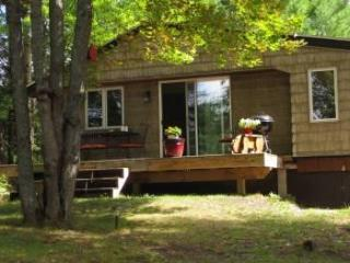 Evergreen Cottage near Pictured Rocks , cozy, semi secluded, woodsy view!, Christmas