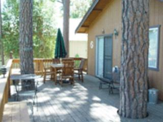 Secluded home in the trees-near activities, deck, A/C, fireplace, kitchen