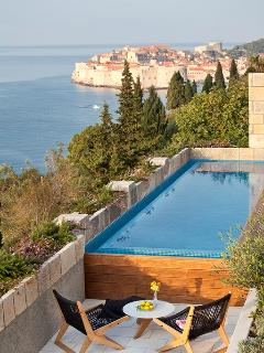 Luxury sea view villa with pool for rent, in Dubrovnik, Croatia