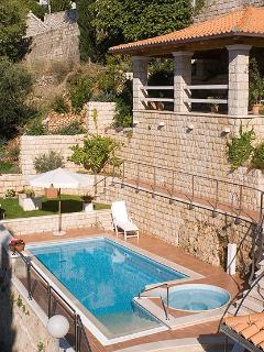 Luxury villa with pool in Dubrovnik