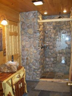 Bathroom Rock Wall 2