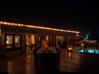 Deck in the evening