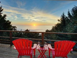 Private hot tub and beautiful views await at this dog-friendly home!, Lincoln City