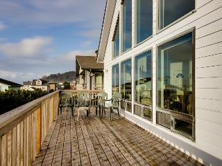 Private hot tub, pet-friendly, gorgeous ocean views!, Lincoln City