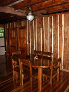 Luxury in the jungle is an understatement!  Just check out the dining area